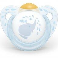 Пустышка латексная «Nuk Baby Blue» размер 1.