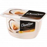 Продукт творожный «Даниссимо» кокосовое мороженное миндаль, 6.0%, 130 г.