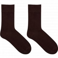 Носки мужские «Mark Formelle» коричневые, размер 27.