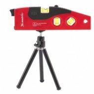 Уровень лазерный, 180 мм, 220 мм штатив, 4 глазка.