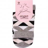 Носки женские «Soxuz» 401-Print-Long, размер 23-25