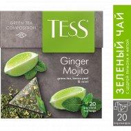 Чай зеленый «Tess» Ginger Mojito, 20х1.8 г