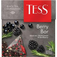 Чай черный «Tess» Berry Bar, 20х1.8 г.