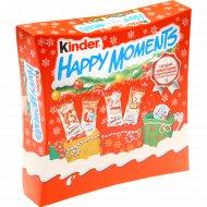 Набор кондитерских изделий «Kinder» happy moments, 242 г.