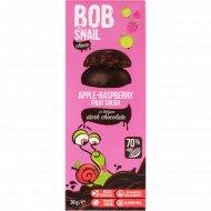 Фруктово-ягодный снек «Bob snail» яблочно-малиновый, 30 г