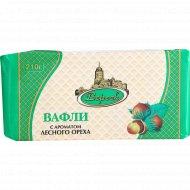 Вафли «Невские» лесной орех, 210 г.