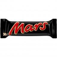 Шоколадный батончик «Mars» с нугой и карамелью, 50 г.