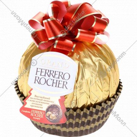 Конфеты хрустящие «Ferrero Rocher Grand» 125 г.