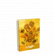 Скетчбук «Ван Гог. Подсолнухи» 01733.
