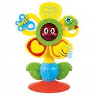 Игрушка музыкальная на присоске «fun flower» aрт.330072.