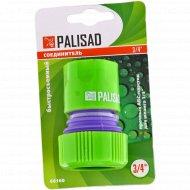 Соединитель пластмассовый быстросъемный для шланга 3/4.