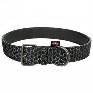 Ошейник «Trixie» для собак, 58 смх30 мм, икусственная кожа, черный.