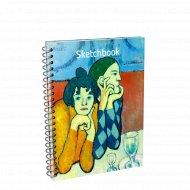 Скетчбук «Пикассо. Арлекин и его подружка» 01795.