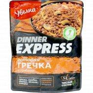 Готовая гречка «Dinner Express» с грибами, 250 г.
