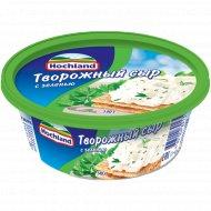 Творожный сыр «Hochland» с зеленью 60 %, 140 г