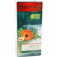 Напиток чайный «Milford» детокс, сорго лимонное-крапива, 20 пакетиков.