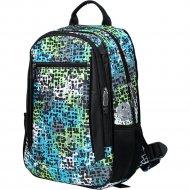 Рюкзак «Galanteya» 1618, 1с768к45, черно-зеленый/черный
