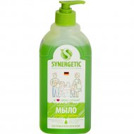 Гипоаллергенное мыло «Synergetic» луговые травы, 500 мл.