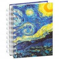 Скетчбук «Ван Гог. Звездная ночь» 100 страниц, 03546.