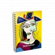 Скетчбук «Пикассо. Голова женщины в голубой шляпе» 01801.