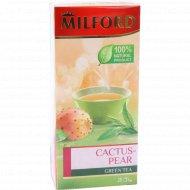 Чай зеленый «Milford» ягода опунции, 20 пакетиков.