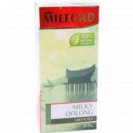 Чай зеленый «Milford» молочный оолонг, 20 пакетиков.