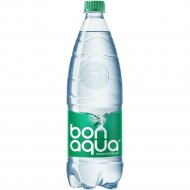 Вода питьевая «Bonaqua» плюс, среднегазированная, 1 л.