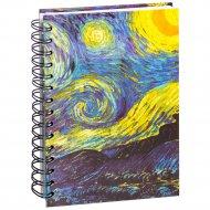 Скетчбук «Ван Гог. Звездная ночь» 100 страниц, 03584.