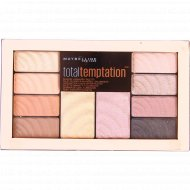 Палетка для макияжа «Maybelline New York» Total Temptation, 12г.
