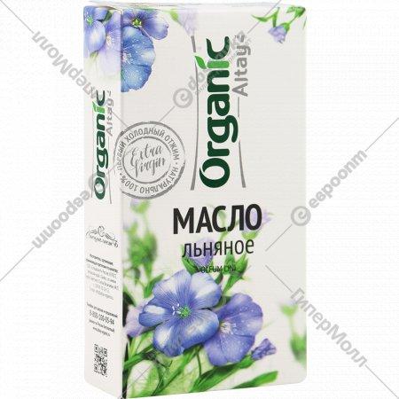 Масло льняное «Organic» нерафинированное, 100 мл.