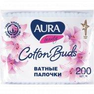 Ватные палочки «Aura Beauty» 200 шт.
