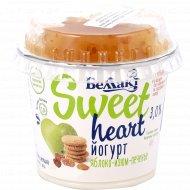 Йогурт с пребиотиком «Яблоко-изюм-печенье» 3%, 130 г.