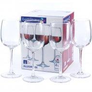 Набор стеклянных бокалов для вина «Allegresse» 420 мл., 4 шт.
