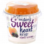 Йогурт с пребиотиком «Абрикос-шелковица» 3%, 130 г.