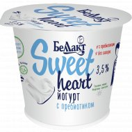 Йогурт «Беллакт» sweet heart, с пребиотиком, 3.5%, 130 г.