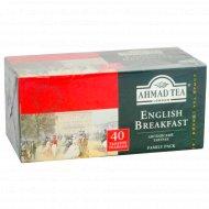 Чай черный «Ahmad Tea» английский завтрак, 40 пакетиков.