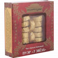 Чай черный листовой «Конфуций» Пуэр «7 звезд» 100 г.