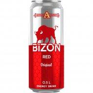 Напиток энергетический «Bizon Red» original energy drink, 0.5 л.