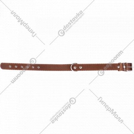 Ошейник «Хампо» кожаный с декоративным тиснением.