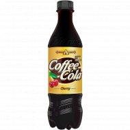 Напиток сильногазированный «Кофе-кола вишня» ароматизированный, 0.5 л.