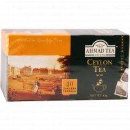 Чай «Ahmad Tea» цейлонский, 40 пакетиков.