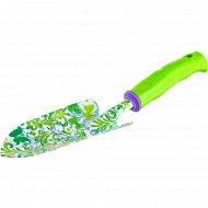 Совок широкий «Flower Green» пластиковая рукоятка.