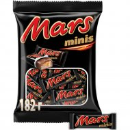 Шоколадный батончик «Mars» minis с нугой и карамелью 182 г.