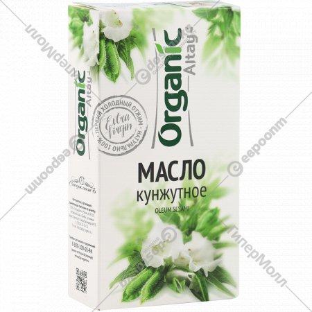 Масло кунжутное «Organic» нерафинированное, 100 мл.