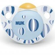 Пустышка силиконовая «Nuk Trendline Adore» размер 1