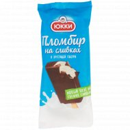 Мороженое «Юкки» пломбир на сливках в хрустящей глазури, 65 г.