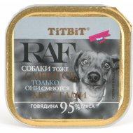 Консервы для собак «TiTBiT» баранина, 100 г.