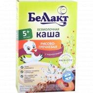 Каша рисово-гречневая безмолочная «Беллакт» с черносливом 200 г.