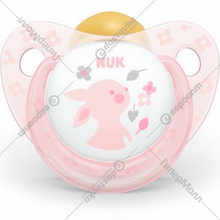 Пустышка латексная «Nuk Baby Rose» размер 1.