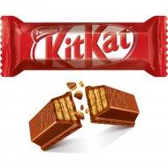 Шоколад молочный «Kit Kat» молочный шоколад с хрустящей вафлей., фасовка 0.38-0.4 кг